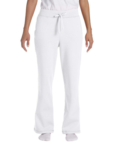 Ladies' Heavy Blend Ladies 8 oz., 50/50 Open-Bottom Sweatpants