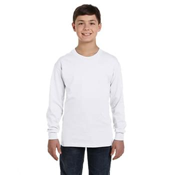 Youth  Heavy Cotton 5.3oz. Long-Sleeve T-Shirt