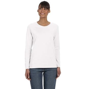 Ladies'   Heavy Cotton 5.3 oz. Long-Sleeve T-Shirt
