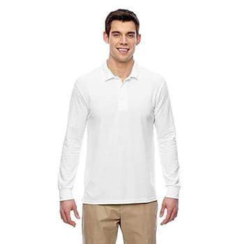 Adult 6 oz. Double Piqu Long-Sleeve Polo