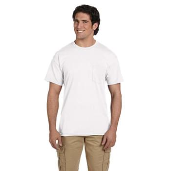 DryBlend 5.6 oz., 50/50 Pocket T-Shirt