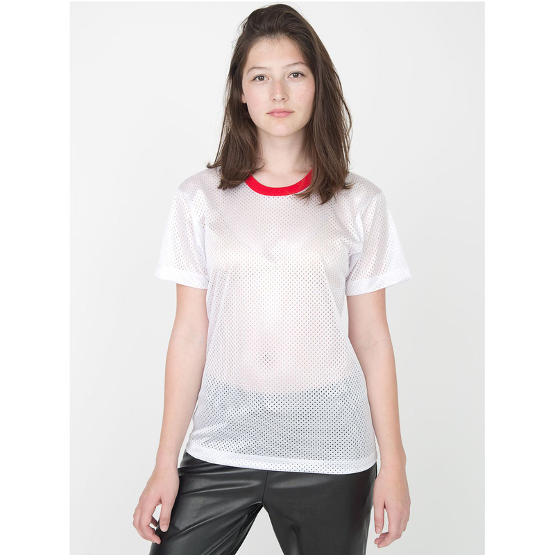 Poly Mesh Athletic Tee