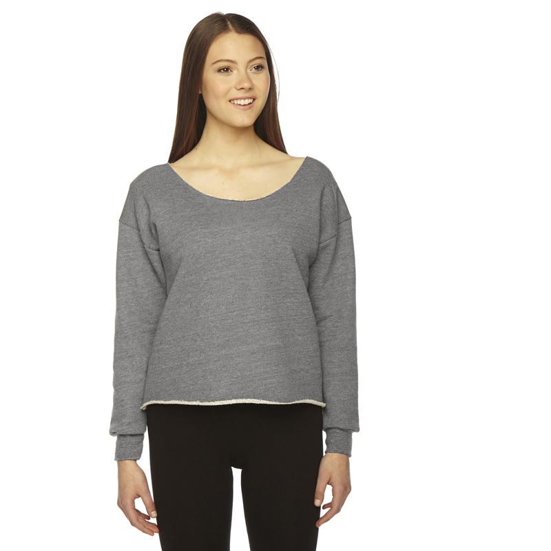 Ladies' Athletic Crop Sweatshirt