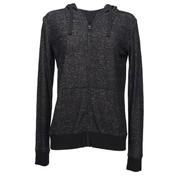 Ladies' Cozy Full-Zip Hoodie T-Shirt