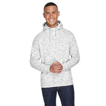 Adult Melange Fleece Pullover Hood