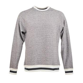 Adult Peppered Fleece Sweatshirt