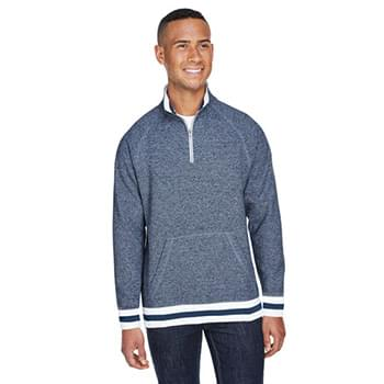 Adult Peppered Fleece Quarter-Zip