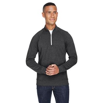Adult Triblend Fleece Quarter-Zip