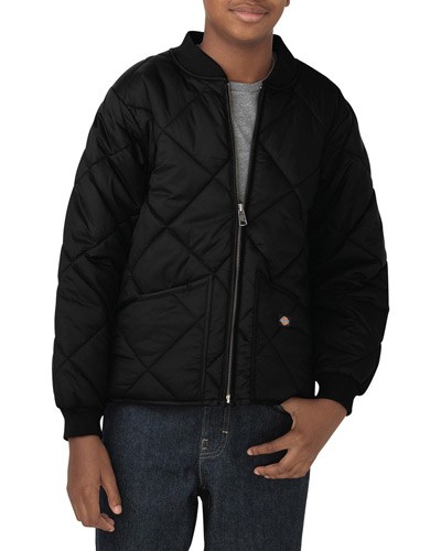 Youth Quilted Nylon Jacket