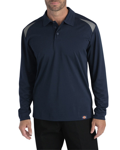 Men's Tall Long-Sleeve Performance Polo