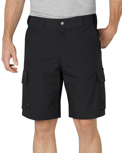 "Unisex Tactical 10"" Relaxed Fit Stretch Ripstop Cargo Short"