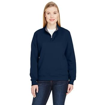 Ladies' 7.2 oz. Sofspun Quarter-Zip Sweatshirt