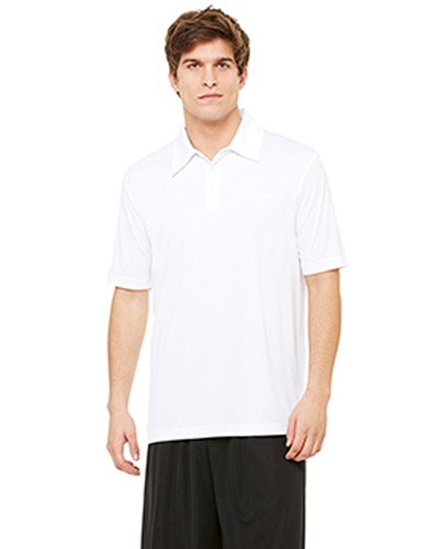 Unisex Performance Three-Button Polo