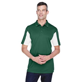 Men's Side Blocked Micro-Piqu Polo