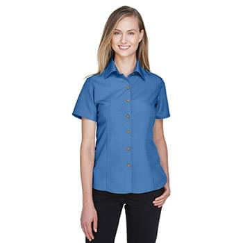 Ladies' Barbados Textured CampShirt