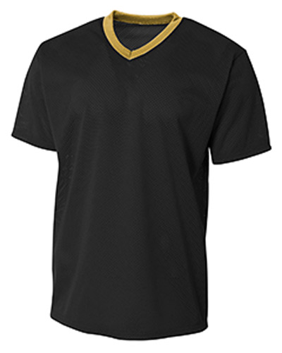 Adult Polyester Mesh V-Neck