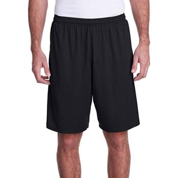Men's Color Block Pocketed Short