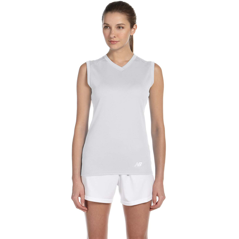 Ladies' Ndurance Athletic V-Neck  Workout T-Shirt