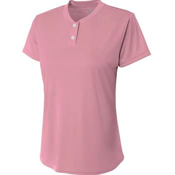 Ladies' Tek 2-Button Henley Shirt