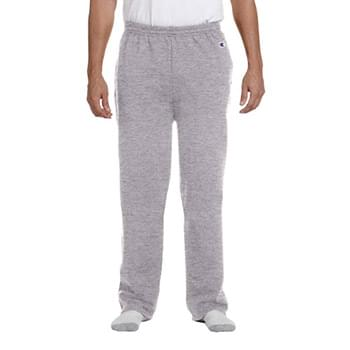 Adult 9 oz. Double Dry Eco Open-Bottom Fleece Pant with Pockets