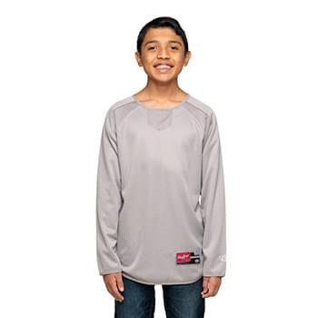 Youth 8 oz., Polyester Fleece Crew