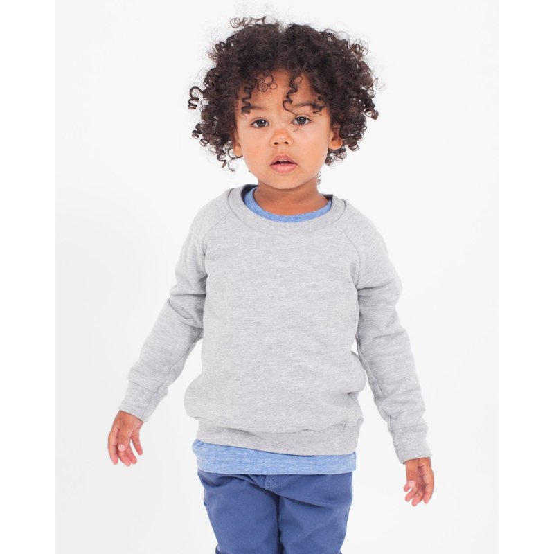 Toddler California Fleece Long Sleeve Raglan