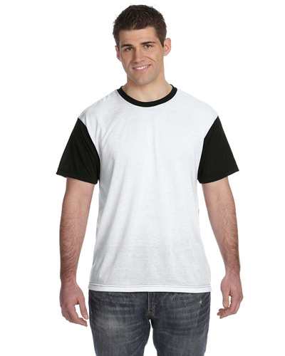 Adult SubliVie Adult Blackout Sublimation Polyester T-Shirt