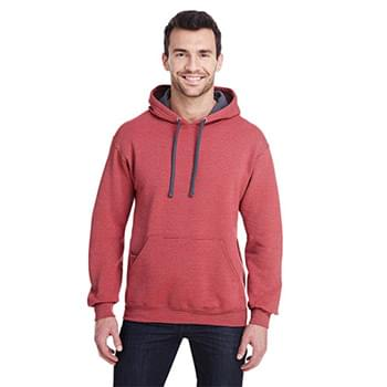 Adult 7.2 oz. Sofspun Striped Hooded Sweatshirt