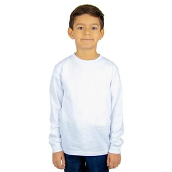 Youth 5.9 oz., Active Long-Sleeve T-Shirt