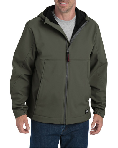 Men's Performance Flex Softshell Jacket with Hood