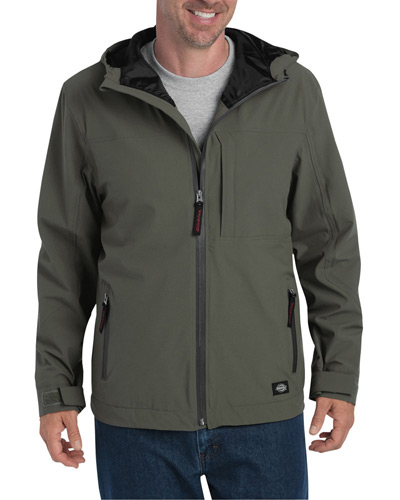 Men's Performance Waterproof Breathable Jacket with Hood