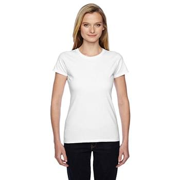 Ladies' 4.7 oz. Sofspun Jersey Junior Crew T-Shirt