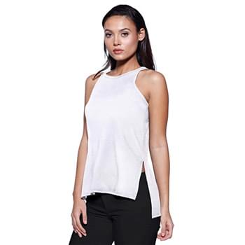 Ladies' CVC Side Slit Tank