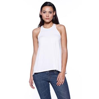 Ladies' CVC Flared Tank Top