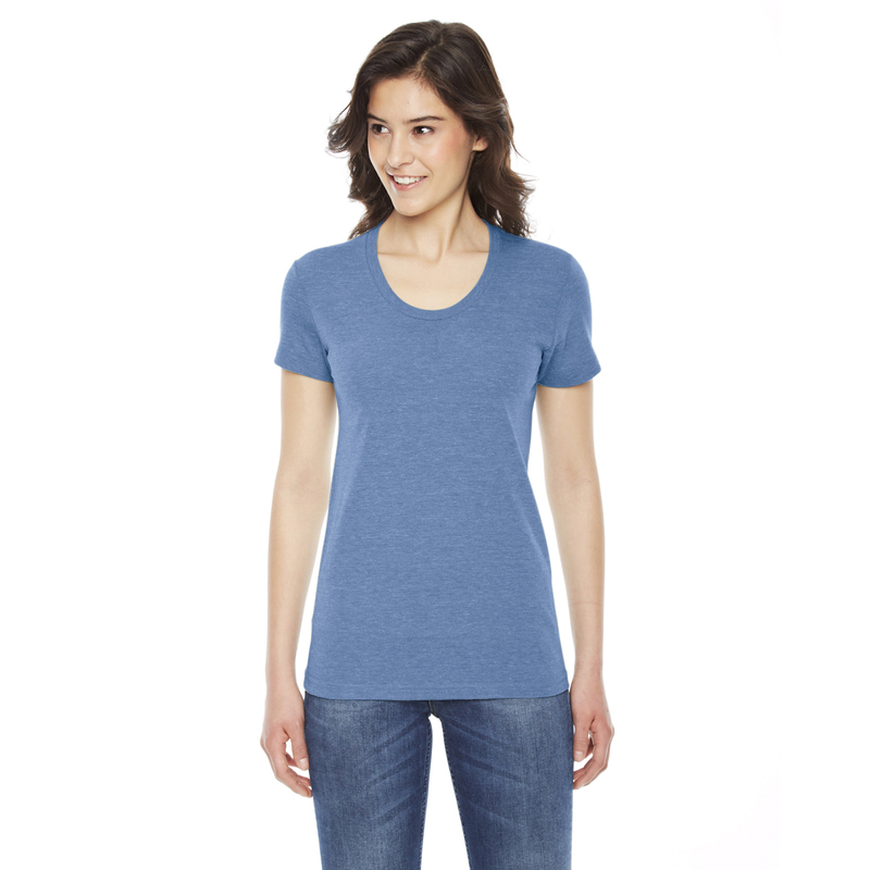 Ladies' Triblend Short-Sleeve Track T-Shirt