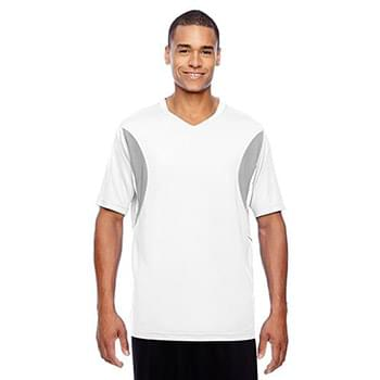 Men's Short-Sleeve Athletic V-Neck All Sport Jersey