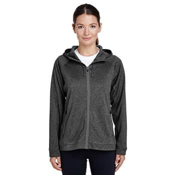 Ladies' Excel Mlange Performance Fleece Jacket