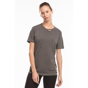 Unisex Pigment-Dyed Destroyed T-Shirt