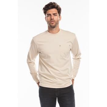 Men's Flame Resistant Long Sleeve Pocket T-Shirt