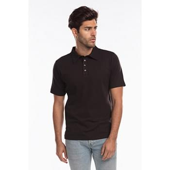 Men's Jersey Interlock Polo T-Shirt