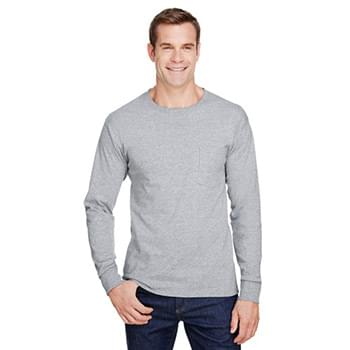 Adult Workwear Long-Sleeve Pocket T-Shirt