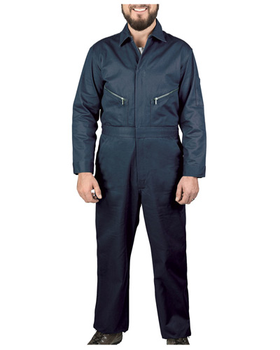Unisex Twill Non-Insulated Long-Sleeve Coveralls