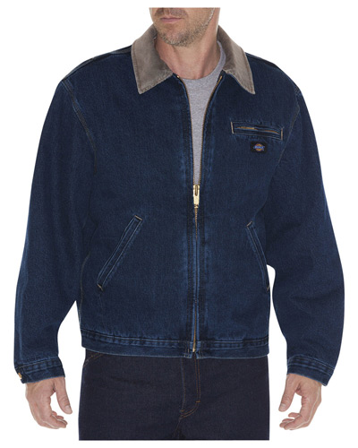 Men's Stone Washed Denim Jacket