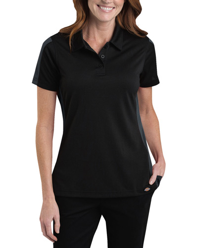 Ladies' Industrial Performance Color Block Polo