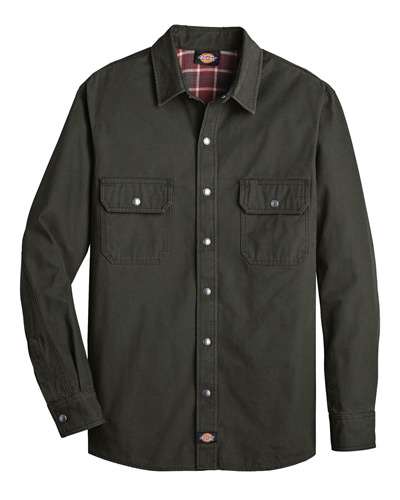 Men's Relaxed Fit Flannel Lined Shirt